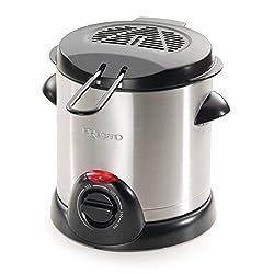Presto 05470 Stainless Steel Electric Deep Fryer, Silver