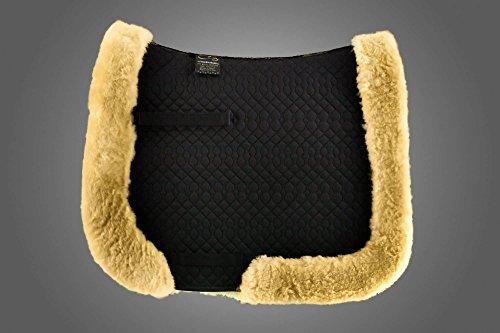 time4horses Merino Lammfell Sattelpad Satteldecke Schabracke Sattel Pad Decke Kissen (Sattel-pads Und Decken)