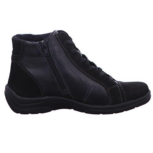 Waldläufer Stiefel & Stiefeletten Stiefel grau Schwarz