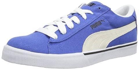 Puma Puma S Low CNVS 355635 Herren Sneaker, Blau (victoria blue-white-black 06), EU 40.5 (UK 7) (US 8)
