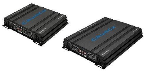 Crunch GPX-2000.1D 1-Kanal Digital Auto Verstärker PKW Endstufe GPX2000.1D 2000 Watt