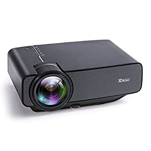 Mini-Beamer-RAGU-Z400-Video-Beamer-Portabel-Tragbar-Home-Entertainment-Heimkino-LED-Beamer-800×480-Auflsung-Untersttzt-Full-HD-1080P-fr-PC-Laptop-PS4-XBOX-Smartphone-Android-iPhone-TV-Box-Schwarz