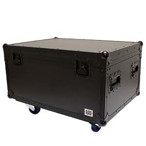 Black Case iperguida multifunzione-Flightcase per il trasporto, taglia L, Nero