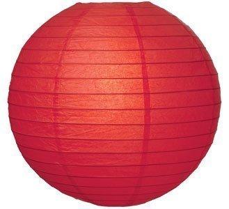 """Matissa 12""""(30CM) Lámparas de techo esféricas de papel (pack de 6) (Rojo)"""