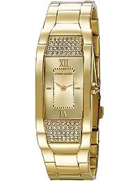 Pierre Cardin Damen-Armbanduhr Extravagance Analog Quarz Edelstahl beschichtet PC104952F08