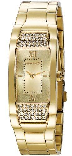 Pierre Cardin PC104952F08 - Orologio da polso donna, acciaio inox, colore: oro