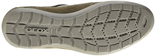 Geox Uomo Symbol A, Low-Top Chaussures homme Grigio (Dove Grey)