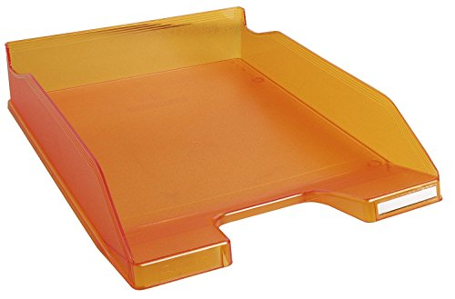 Exacompta Linicolor Tangerine Vassoio portalettere, confezione da (Lettera Vassoio Basket)