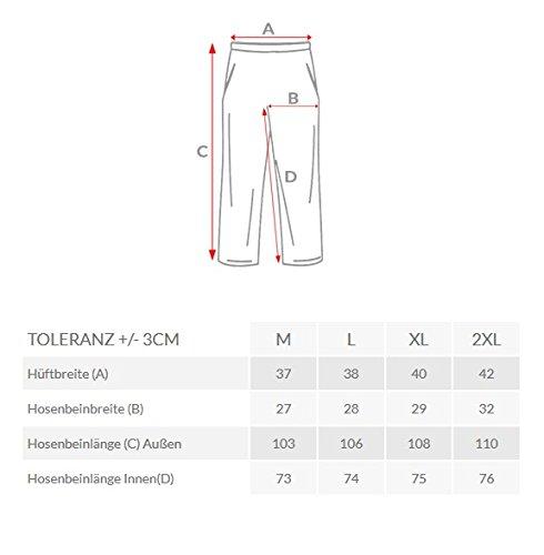 OZONEE Uomo Pantaloni Sport Fitness Pantaloni tuta STEGOL 816 Grigio scuro