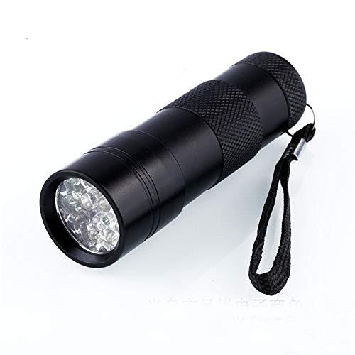 MMUY-1 Pet Urine Detector Light, 12 LED, Handheld und Portable, für Pet Stain, Mineralien, Automotive Leak Detection oder Scorpion Hunting (Batterien Nicht im Lieferumfang enthalten) -