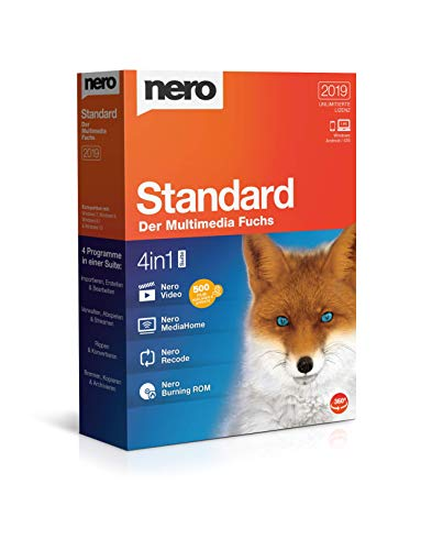 Nero Standard 2019 (7 Windows Für Dvd-brenner-software)