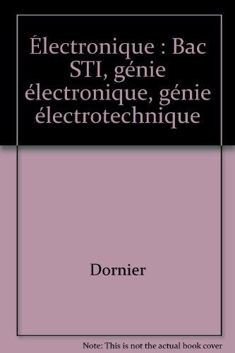 Électronique : Bac STI, génie électronique, génie électrotechnique