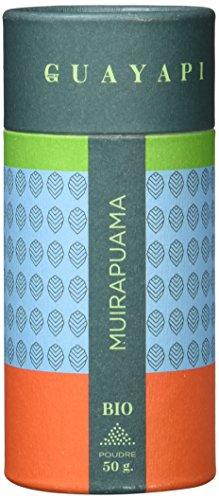 Guayapi Muirapuama-Pulver (Ptychopetalum Olacoides) Bio mit FGP Zertificiert, 1er Pack (1 x 50 g)