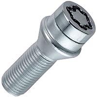 McGard 27208SU Standard - Tornillos antirrobo para rueda (base cónica, M14 x 1,50, longitud del vástago 50,0 mm, SW17)