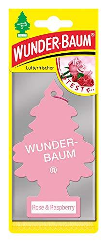 Wunderbaum Lufterfrischer Rose & Raspberry 5er Pack