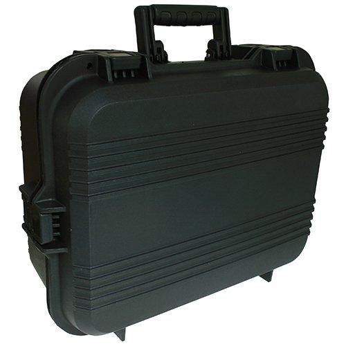 Plano AW-Serie Koffer für Pistolen und Zubehör, wetterfest, XL, schwarze Griffe -