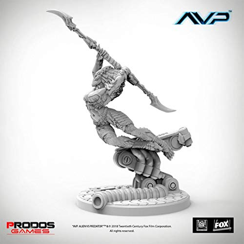 AvP Tabletop Game The Hunt Begins Expansion Pack Female Predator UniCast Edition