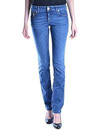 Dirk Bikkembergs Mujer MCBI097032O Azul Algodon Jeans