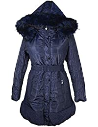 Damen Lagenlook Ballon Winter Jacke Fell Kapuze Parka Mantel warm 40 42 44  46 48 50 52 54 M L XL XXL 3XL… 54644430ce