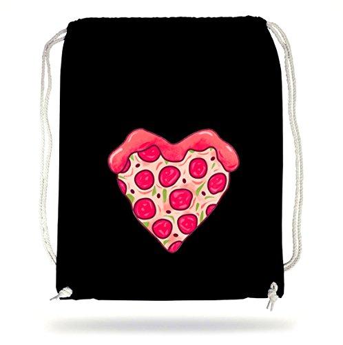 Pizza Love Gymsack Black Certified Freak