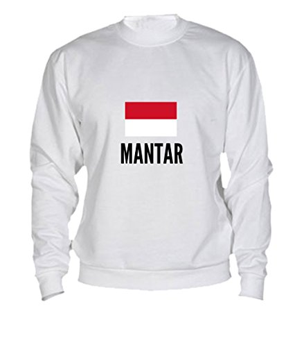 Felpa Mantar city White