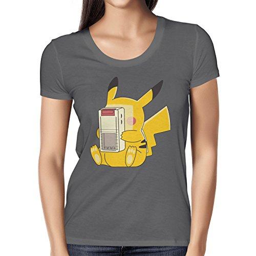 TEXLAB - Gaming Chu - Damen T-Shirt, Größe M, (Kostüm Pichu)