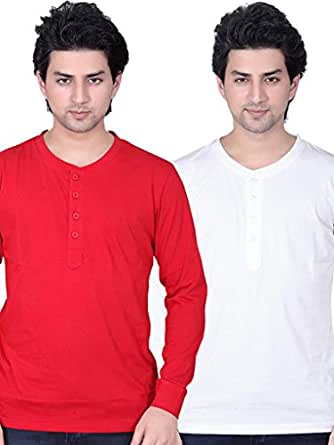 LUCFashion Mens T-Shirt Combo Pack Of 2