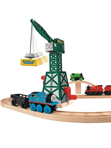 Thomas & Friends Wooden Railway Cranky The Crane Set
