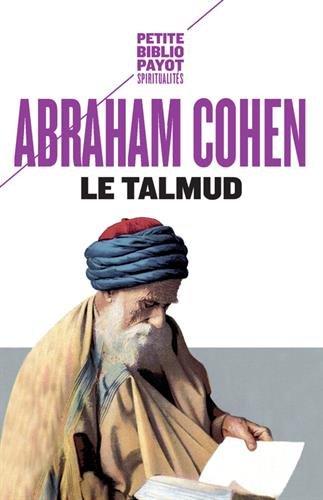 Le Talmud par A. Cohen