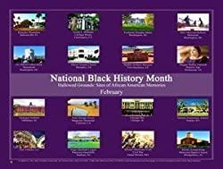 2016 Black History Month Poster Hallowed Grounds: Sites Of African American Memory (B16)