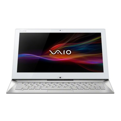 Sony VAIO Duo SVD1322X2EW 33,8 cm (13,3 Zoll Touch) Convertible Ultrabook (Intel Core i5-4200U, 1,6Ghz, 8GB RAM, 128GB SSD, Intel HD 4400, 3G/HSPDA, NFC, Win 8, Touchscreen) weiß