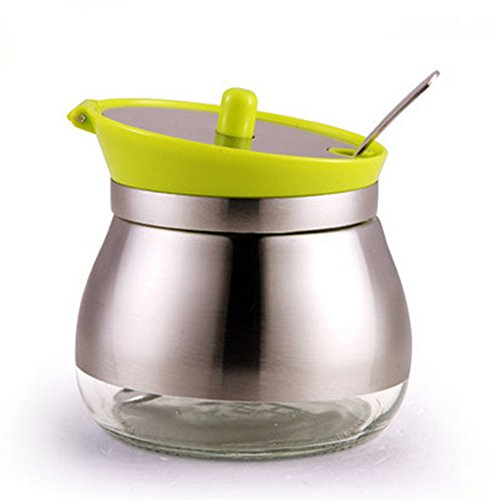 VANCORE (TM) in acciaio inox 304vetro condimento Vasi Spice barattolo