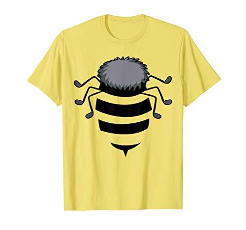 Bee Body Kostüm Einfach Insekt Halloween Geschenk T-Shirt (Herren Body Zombie Kostüm)