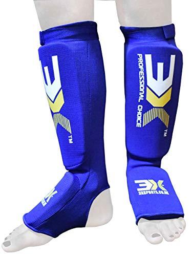 3X Professional Choice Boxeo MMA Espinilleras Kickboxing Pie Pierna Protección Muay Thai Krav Maga UFC Espinilla Empeine