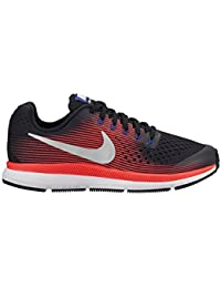 best website f783f 6f10a Nike Zoom Pegasus 34 Shield (GS), Zapatillas de Running para Niñas, Gris (Dark  Grey Reflect Silver Racer…