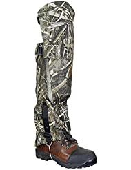 Raptor Hunting Solutions Realtree Max5 Protection Contre la Neige Imperméable Protection Contre le Genou Mountain Hiking Gaiter realtree Max5 (one size)