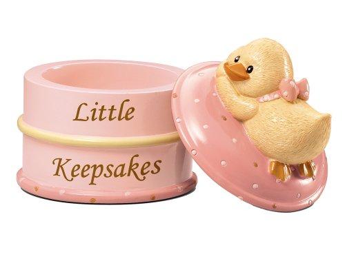 Diddy Duck Girl Little Keepsake Box ~ D
