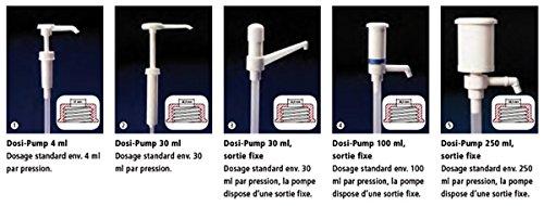 DUTSCHER 670807 Pompe de dosage Dosi-Pump, dosage standard 4 mL, profondeur d'immersion 20 cm