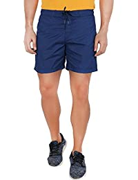 United Colors of Benetton Men's Shorts (BS01I_X-Large_Solid Navy Blue)-902