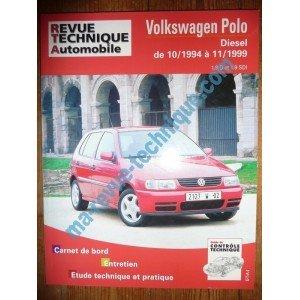 Revue technique0611.1 REVUE TECHNIQUE AUTOMOBILE VOLKSWAGEN VW POLO Diesel 1.9l D et SDi de 10/1994 à 11/1999