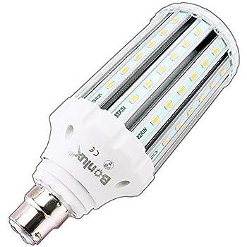 DEL B22 Ampoules Bright Hi Lumen 20,30,40 et 50 W T Shape Daylight White Low Energy