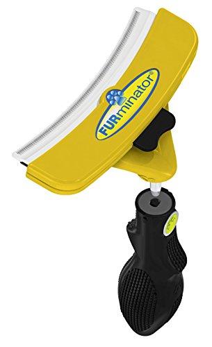 FURminator FURflex, Fellpflegebürste für sehr große Hunde, deShedding-Tool zur Entfernung der Unterwolle, Größe XL