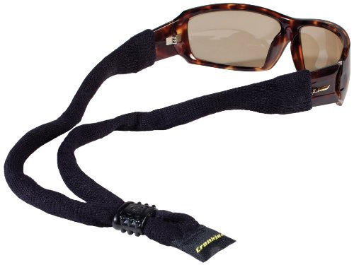 CROAKIES XL Baumwolle Suiters Eyewear Retainer, Herren, schwarz (Croakies Brillen)