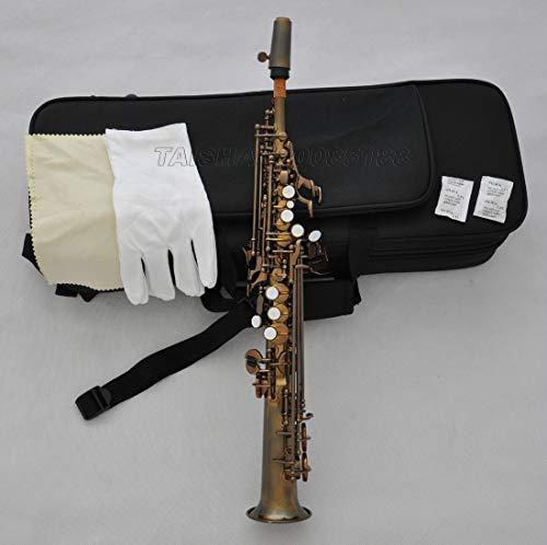 FidgetGear Prof. Sopranino JINBAO Saxophon Eb Sax Low B bis High F# mit Etui