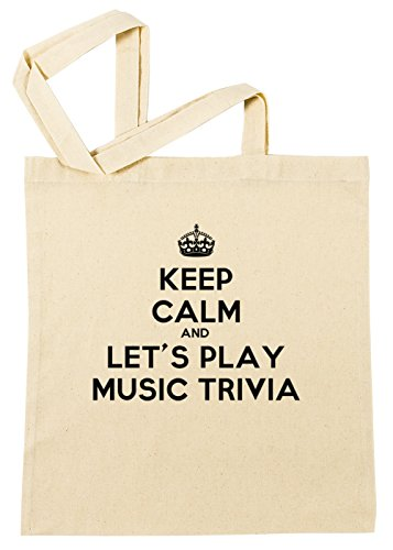 lay Music Trivia Einkaufstasche Wiederverwendbar Strand Baumwoll Shopping Bag Beach Reusable ()