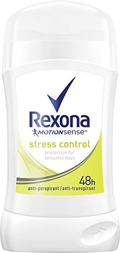 Rexona Deostick stress control anti-transpirant, 6er Pack (6 x 40 ml) (Deodorant Stick 24-stunden-schutz)