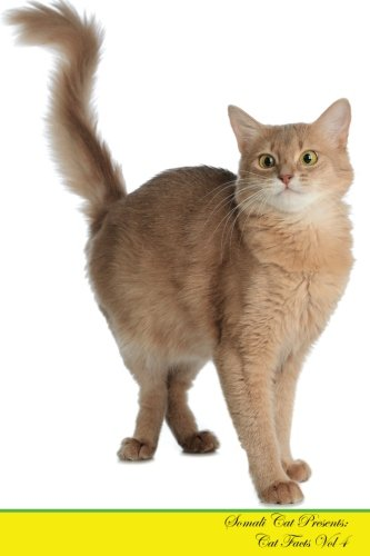 Somali-katze (Somali Cat Presents:  Cat Facts Workbook. Somali Cat Presents Cat Facts Workbook with Self Therapy, Journalling, Productivity Tracker with Self ... Productivity Tracker Workbook. Volume 4)