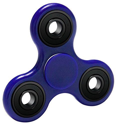 Produktbild Bestidy Fidget Toys Hand Spinner Finger Spielzeug für Kinder und Erwachsene Spielzeug Geschenke (Blue)