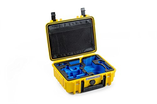 B&W outdoor.cases Typ 1000 mit DJI Osmo X3 Inlay - Das Original