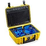B&W Outdoor Cases Typ 1000 mit DJI Osmo+ / DJI OsmoX3 Inlay, gelb - Das Original